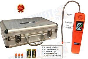 Refrigerant Digital Leak Detector with Metal Case - CPU-C