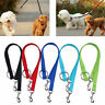 Double Ended Dog Lead For 2 Dogs 2 Way Coupler Leash Walking Reflect Duplex W0S8