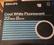 "Philips FC8T9/CW Fluorescent Lamp Cool White 22W 8"" MADE IN JAPAN"