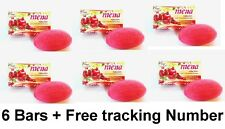 6x MENA SOAP POMEGRANATE COLLAGEN HELP REDUCE WRINKLES BODY SKIN CARE 100G