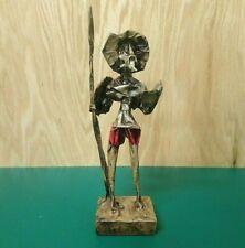 Don Quijote Quixote De La Mancha paper mache figurine Mexican handcraft Splendid