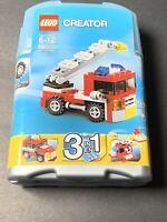 Lego 6911 CREATOR Mini Fire Rescue 3 in 1 69 Pieces Age 6-12 NEW. #9