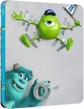Monsters University Limited Edition Steelbook Bluray UK Exclusive NEW SEALED
