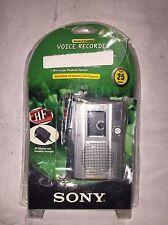 Sony TCM-210DV Standard Cassette Voice Recorder Bundle FOR PARTS!!!