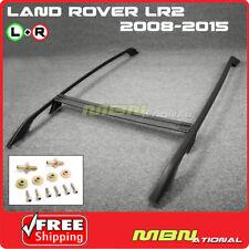 08-15 Land Rover LR2 Freelander Roof Rack Rail with Crossbars Kit 3pcs Set Black