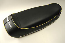 KAWASAKI 500 H1 - Selle NEUVE refabrication - Liseret OR