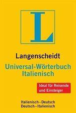 Langenscheidt Universal-Wörterbuch Italienisch (2012, Kunststoff)