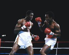 1981 SUGAR RAY LEONARD vs THOMAS HITMAN HEARNS Glossy 8x10 Photo Poster Print