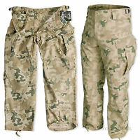 HELIKON MENS SPECIAL FORCES ARMY COMBAT CARGO PANTS POLISH DESERT RIPSTOP FABRIC