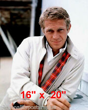 """Steve McQueen~Color~King of Cool~Fashion~Poster~Photo~16"""" x  20"""""""