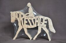 English Riding Dressage Horse Wooden Tack Room Puzzle Toy New