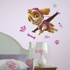 PAW PATROL GIRL PUPS SKYE GiAnT Wall Decals Room Decor Stickers Dogs Decorations
