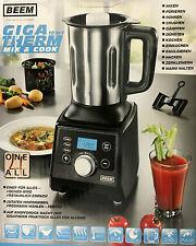 BEEM Gigatherm Mix & Cook  Küchenmaschine 12in1 Mixer Standmixer dämpfen Crusher