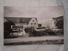 Ancienne carte postale de Quiberon Port Haliguen colonie de vacances S.N.C.F