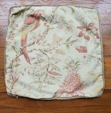 Pottery Barn verona Vintage Floral Sofa Chair Pillow Cover Lumbar 16x26