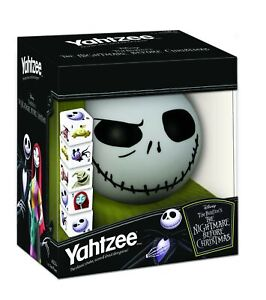 Disney Yahtzee The Nightmare Before Christmas Dice Game | Collectible
