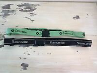 SAMSONITE - 2 Luggage Straps, Green & Black, Adjustable - MUST SEE!
