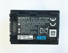 Genuine Original Sony NP-FH100 Battery FH60 FH50 CX100 CX500 XR520 SX30 HC9 HC53