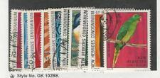 New Hebrides - British, Postage Stamp, #155-164 Used, 1972, JFZ