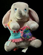 Disney Babies Dumbo Baby Elephant with Blanket Theme Parks Stuffed Animal Toy