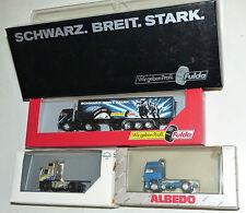 3x Modellauto / LKW: Herpa Fulda-Y 2000, MAN F 2000, Albedo Volvo F 16 1:87 OVP