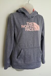 the north face blue/pink hooded jumper…size womens medium…vgc...