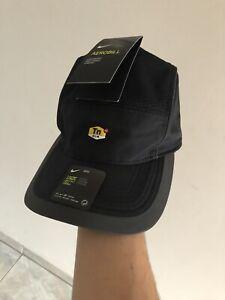Nike TN Air AeroBill AW84 Triple Black 5 Panel Cap/Hat