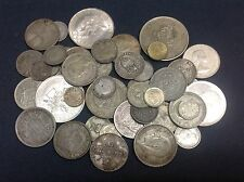 Lot of Mixed Silver Foreign World Coins! – A wonderful mix