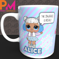 PERSONALISED LOL Dolls Kid Mug Gift Christmas Birthday Party Surprise Present