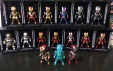 16 PIECES  of LED Light Up Black Hall of Armor For Hot Toys Iron Man Cosbaby NEW
