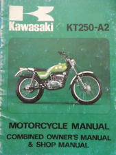 Kawasaki KT250 Workshop Manual 1975