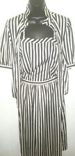 Vintage Intuition 3 piece outfit black / white Women's Size Small (made in Usa)