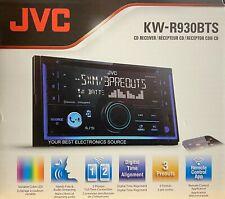 NEW JVC KW-R930BTS 2-DIN CD/AM/FM Car Stereo Receiver, Bluetooth, SiriusXM Ready