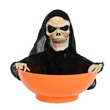 Hallowmas Party Decoration Play Toy Grim Reaper Animated Snapping Sam Candy Bowl