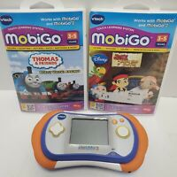 Vtech MobiGo 2 Touch Hand Held Learning System Thomas & Jake Game *Tested Works*