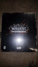 Genuine World Of Warcraft Cataclysm Collectors Edition Factory Sealed BNIB