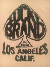pop art ACE OF SPADES t shirt by LUCKY BRAND-playing card-LOS ANGELES CALIF--(M)