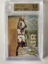 1993-94 Fleer Ultra Famous Nicknames #7 Michael Jordan Bulls BGS 9.5 Gem Mint