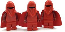 LEGO LOT OF 3 IMPERIAL GUARD MINIFIGURES RED STAR WARS DARTH VADER'S KNIGHTS