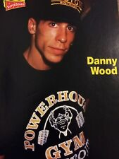 Danny Wood, New Kids on the Block, Double Full Page Vintage Pinup