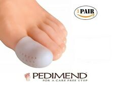 PEDIMEND™ Gel Big Toe Caps and Protector with Breathing Holes - Foot Care - UK
