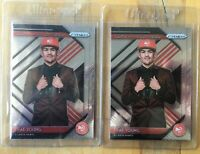 2018-19 Panini Prizm Trae Young Luck of the Lottery Lot of 2 Rookie Cards Rc