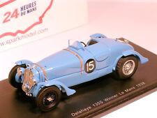 1 43 Spark Delahaye 135cs Winner 24h le Mans Chaboud/tremoulet 1938