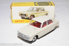 DINKY TOYS 510 PEUGEOT 204 CREAM NEAR MINT BOXED
