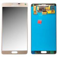 Display LCD Komplettset GH97-16565C Gold für Samsung Galaxy Note 4 N910F Ersatz