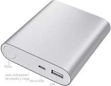 PowerBank Power Bank Cargador Bateria + CABLE CARGA para movil  tablet 8000 mAh
