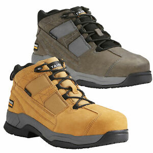 Mens ARIAT Contender Lace Up SB SRC Steel Toe Mid Cut Work Boots Sizes 7 to 12