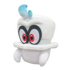 "Little Buddy Super Mario Odyssey White Cappy Normal Form 8"" Plush Kids Gift"