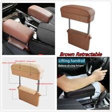 1Pcs Car Accessories Center Console PU Leather Adjustable Armrest Storage Box