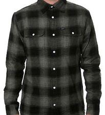 MATIX Whitfield Flannel Shirt (L) Black